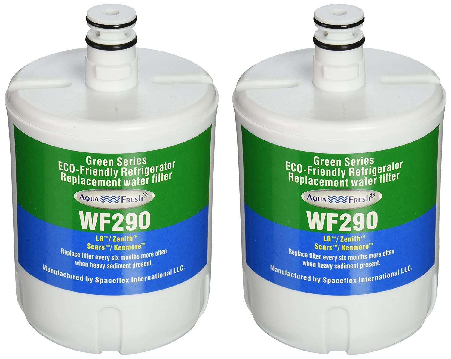 Aqua Fresh WF290 Replacement for LG LT500P and 5231JA2002A (Pack of 2)