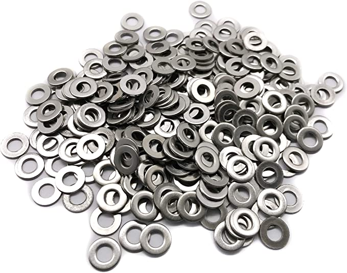 Any OD Up To 75mm Any ID 4mm Stainless Steel Custom Cut Washer