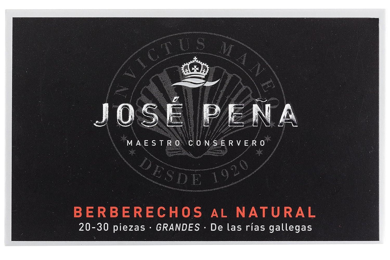 JOSE PEÑA -Berberechos Al Natural 18-24 Pzas