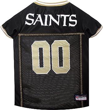 Amazon.com: NFL Pet Jersey. Camiseta para perro con licencia ...