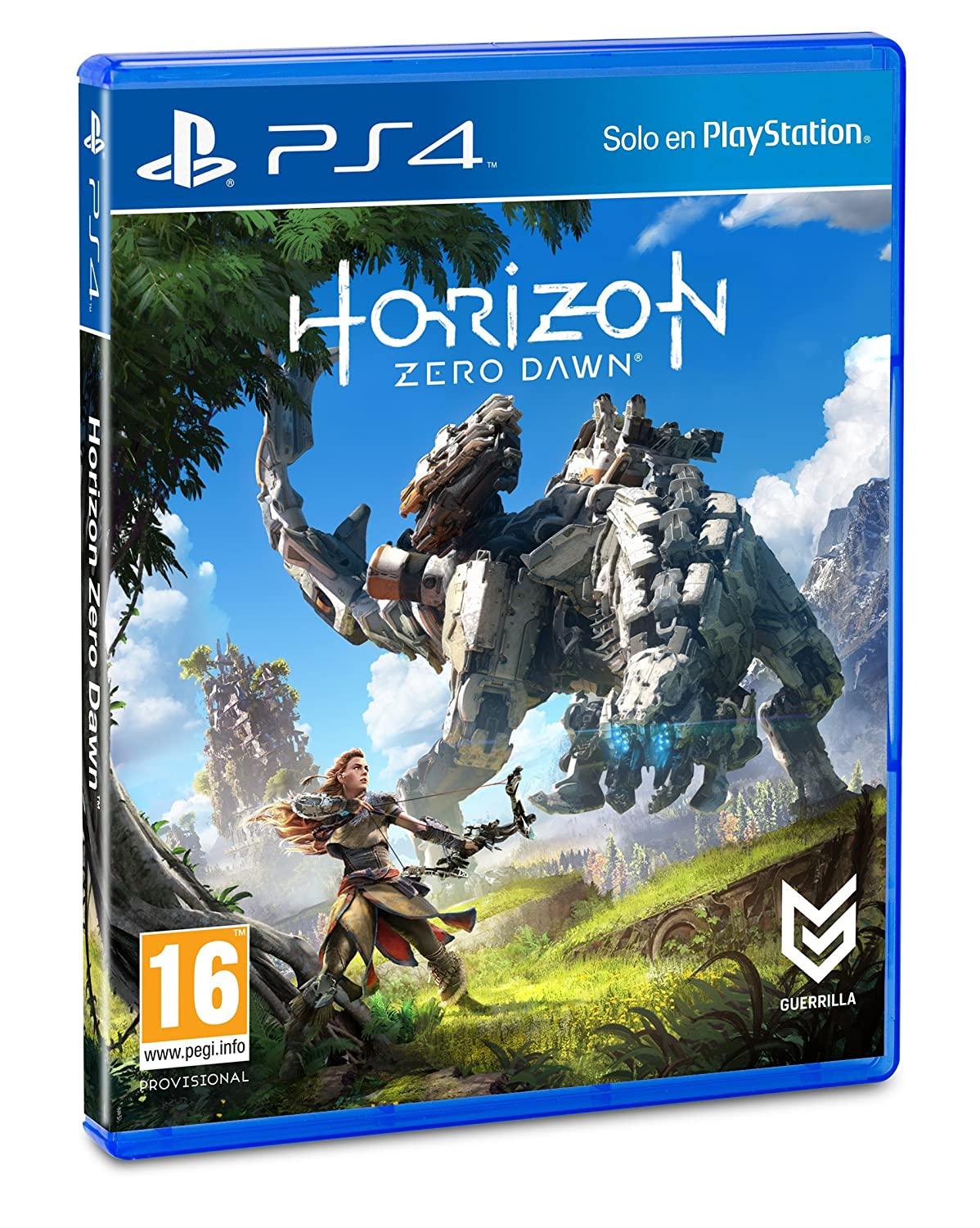 Horizon Zero Dawn Edicion Normal Playstation 4 Sony Amazon Es