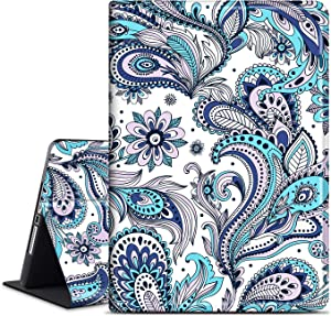 INSSISAIN Case for iPad Air 2/iPad Air, Soft TPU Back, PU Leather Protective Smart Cover with Auto Sleep/Wake Function for Apple iPad 9.7