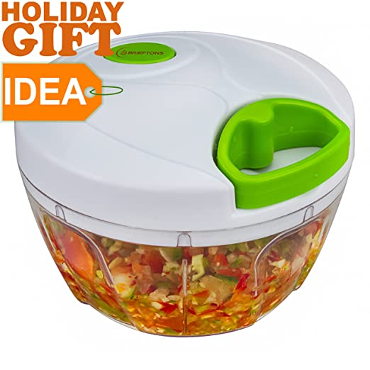 Brieftons Compact & Powerful Handheld Food Chopper