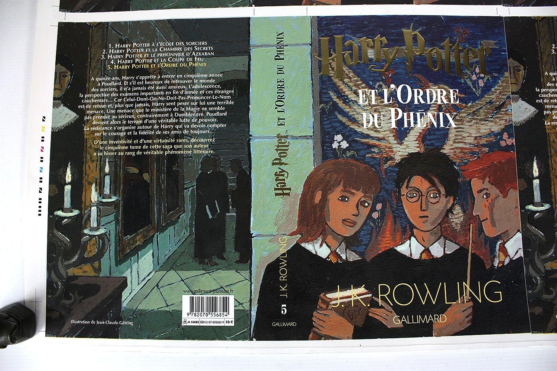 HARRY POTTER Arte Original. Impresoras Prueba: La Orden del ...