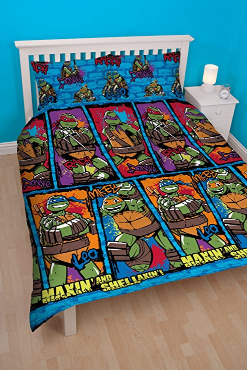 Juego de cama de las Tortugas Ninja: Amazon.es: Hogar