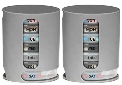 Pill Pro   2 Pack, Weekly Pill Organizer by Pill Pro