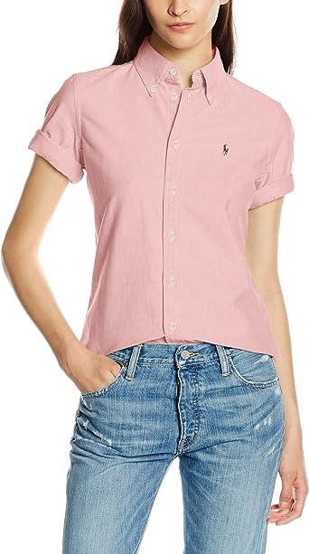 Polo Ralph Lauren Jenny SS Shirt Camisa, Rosa (BSR Pink AA254 ...