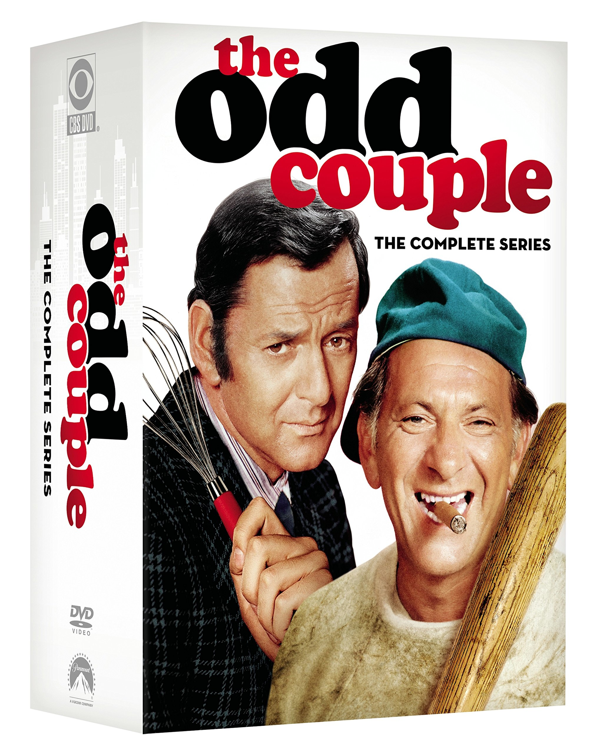 DVD : The Odd Couple: The Complete Series (Full Frame, Boxed Set, 20 Disc, Sensormatic)