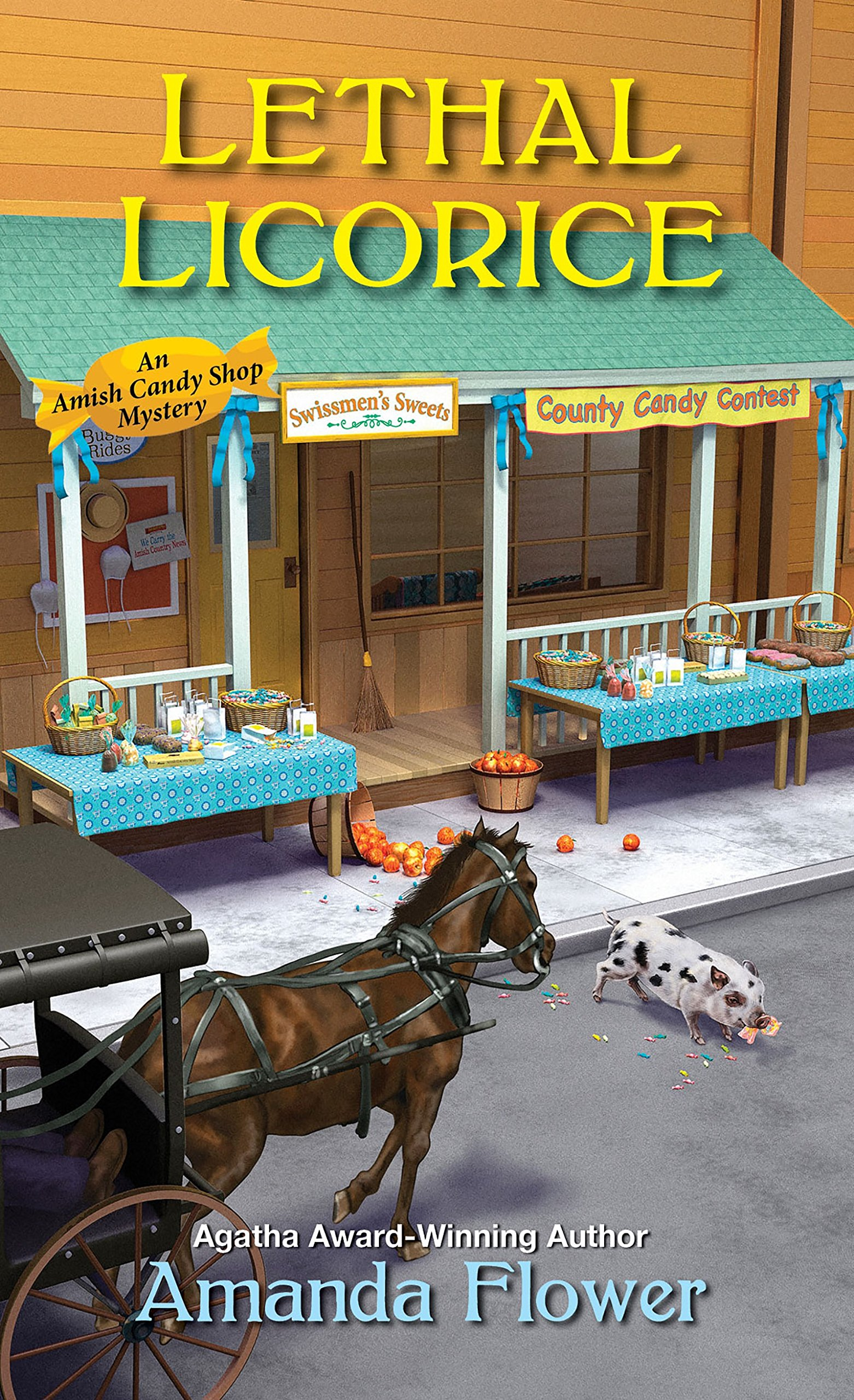 Lethal Licorice  An Amish Candy Shop Mystery Book 2   English Edition