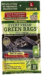 EVER FRESH Produce Bag Large, 10 CT
