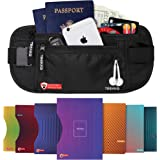 Travel Money Belt with RFID Protection for Travelers - for Men Or Women - for Safe Travel