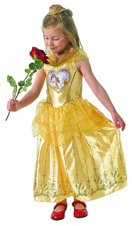 e90c8b691 Rubie s Loveheart Belle Girls Fancy Dress Disney Beauty and the ...