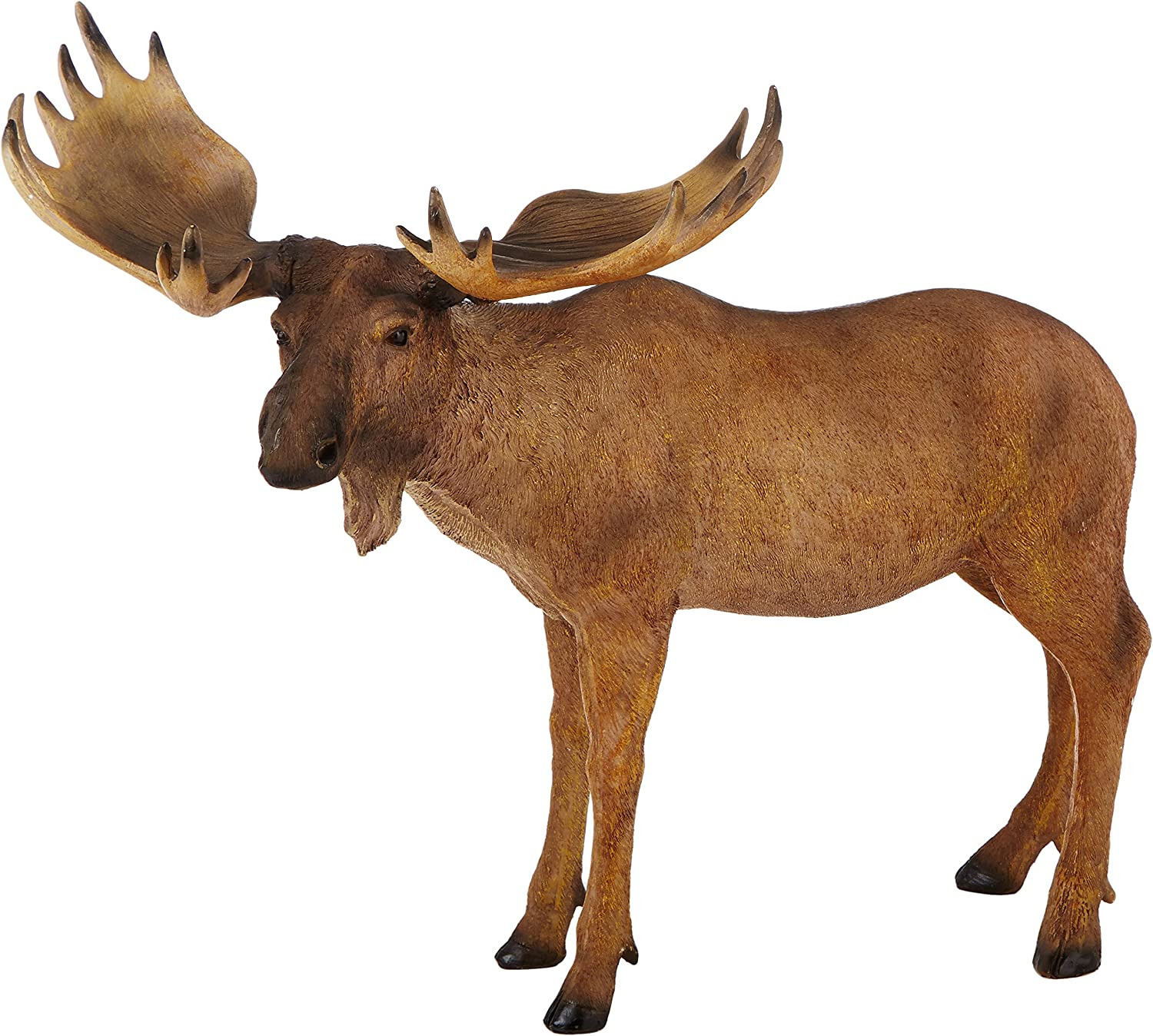 Design Toscano The Moose is Loose Statue, Multicolored