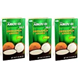 Aroy-D - Kokosmilch - 3er Pack (3 x 500ml)