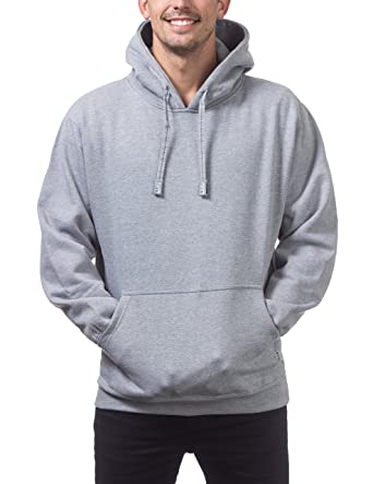 e3da0ad6d Amazon.com  Pro Club Men s Heavyweight Pullover Hoodie (13oz)  Clothing