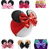 Mouse Ears Headband/Headwrap - Toddler Baby Girls & Kids up to 4yrs