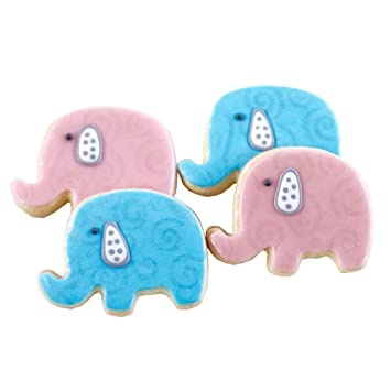Amazon Dz Baby Elephant Cookies Shower Themed Birthday