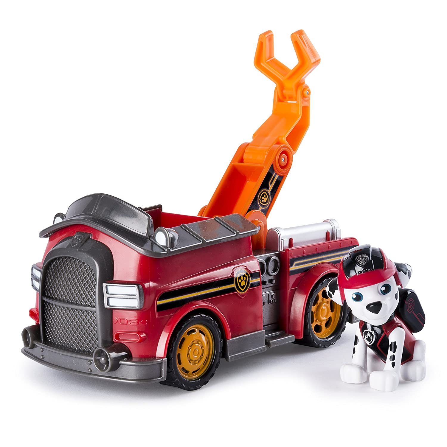 amazon com paw patrol mission paw marshall s mission fire truck