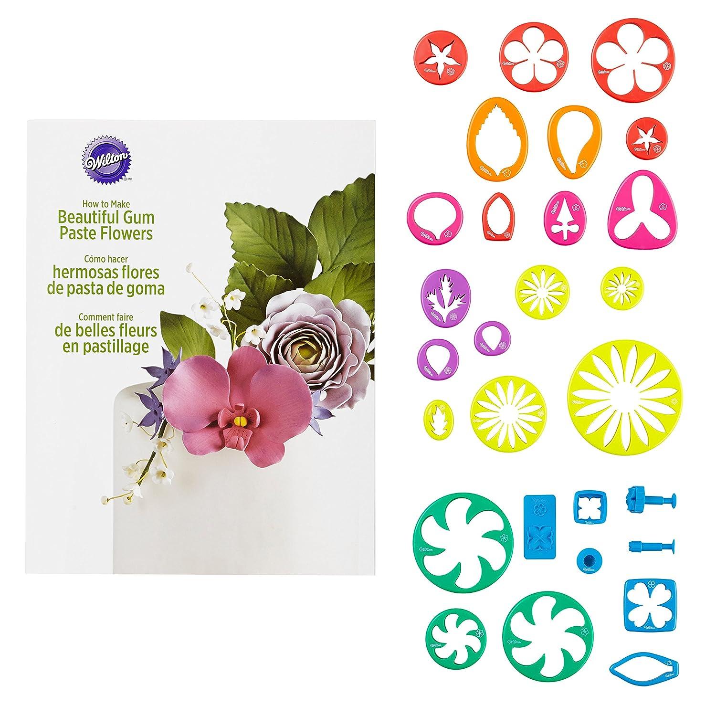 Amazon Wilton 2109 7987 Gum Paste Flower Cutter Set Kitchen