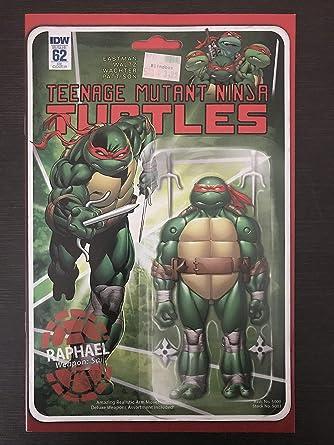 Teenage Mutant Ninja Turtles #62 Red 2016 Variant IDW Comic ...