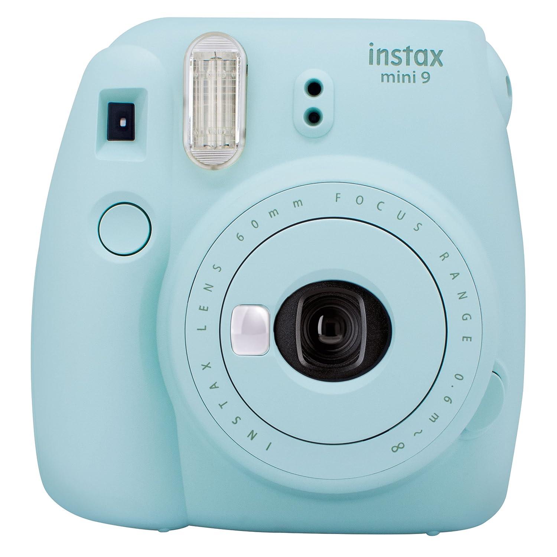 Fujifilm Cámara Instantánea Instax Mini 9, color Azul Hielo