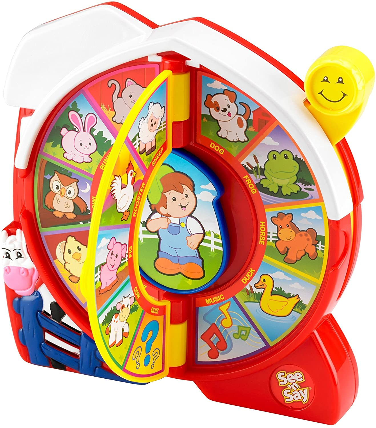 Amazon Com Fisher Price See N Say The Farmer Says Amazon