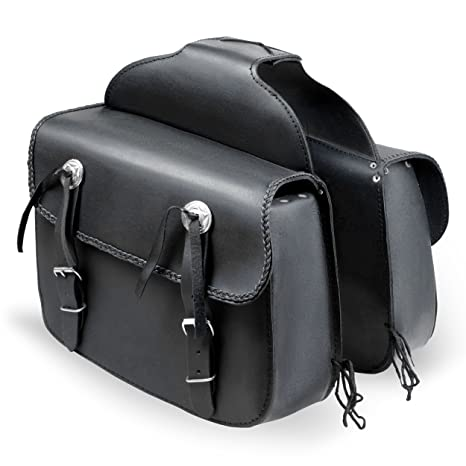 f04cd81cb2 Lions® Saddle Bags Throw Over Panniers Real Leather Saddlebag Motorcycle  Travel Luggage: Amazon.co.uk: Car & Motorbike