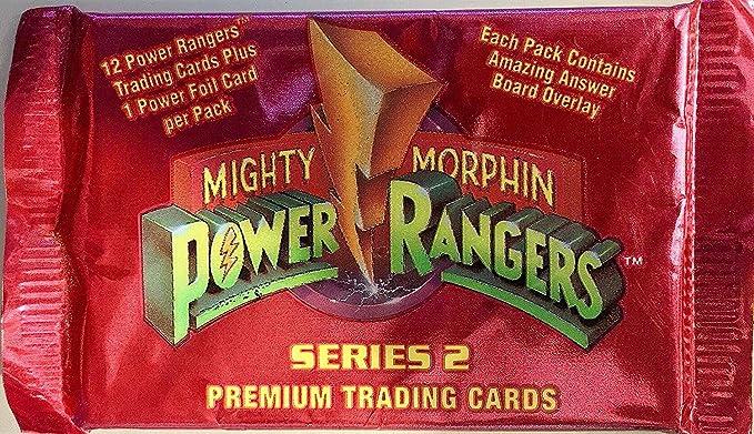 1994 Mighty Morphin Power Rangers série 2 Trading Card Box neuf scellé 36 Packs