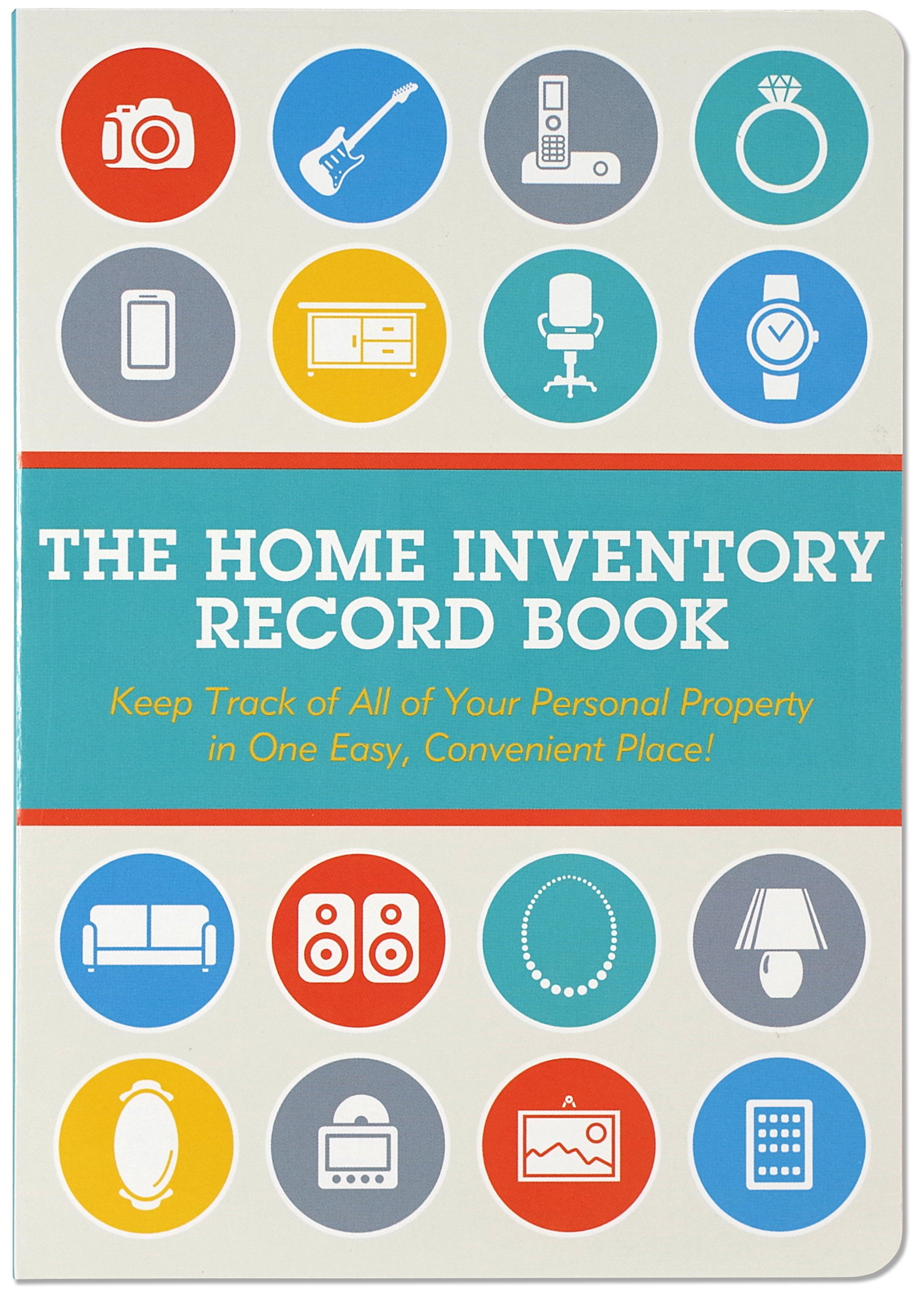 home inventory record book keep track of your personal property