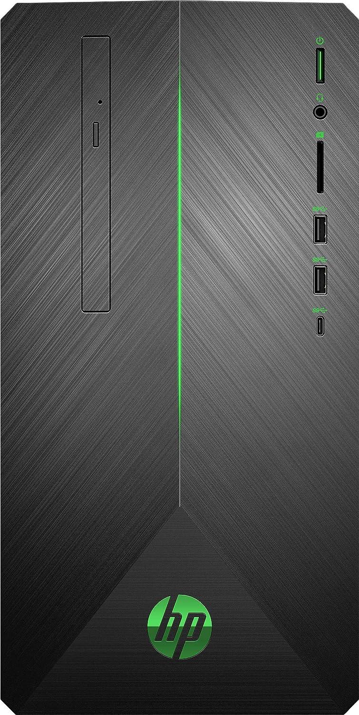HP Pavilion 690-0019 MT Gaming PC, AMD Ryzen 5, 3.60GHz,8GB RAM, 2TB HDD+128GB SSD,Win 10 Home-3LB26AA#ABL