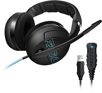 Roccat Kave XTD - Auriculares de diadema cerrados (USB), negro: Amazon.es: Electrónica
