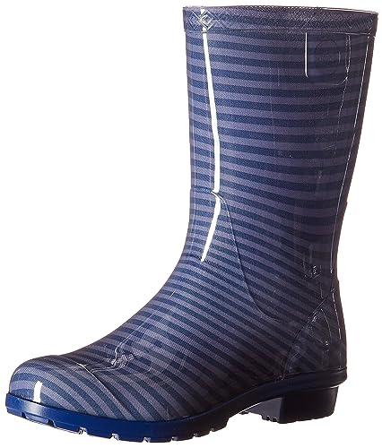 UGG Girls K Raana Stripes Pull-on Boot, Marino, 2 M US Little
