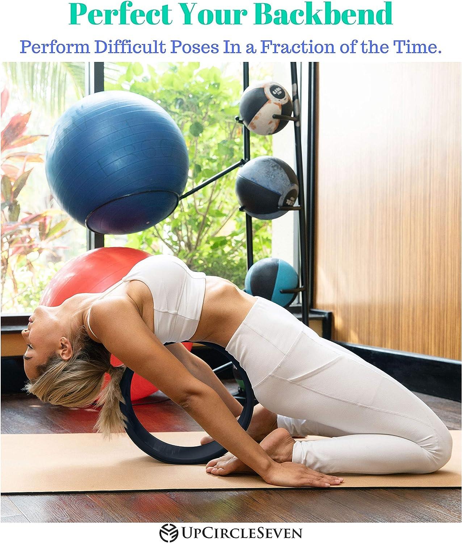Amazon.com: Rueda de yoga UpCircleSeven – [serie Pro] más ...
