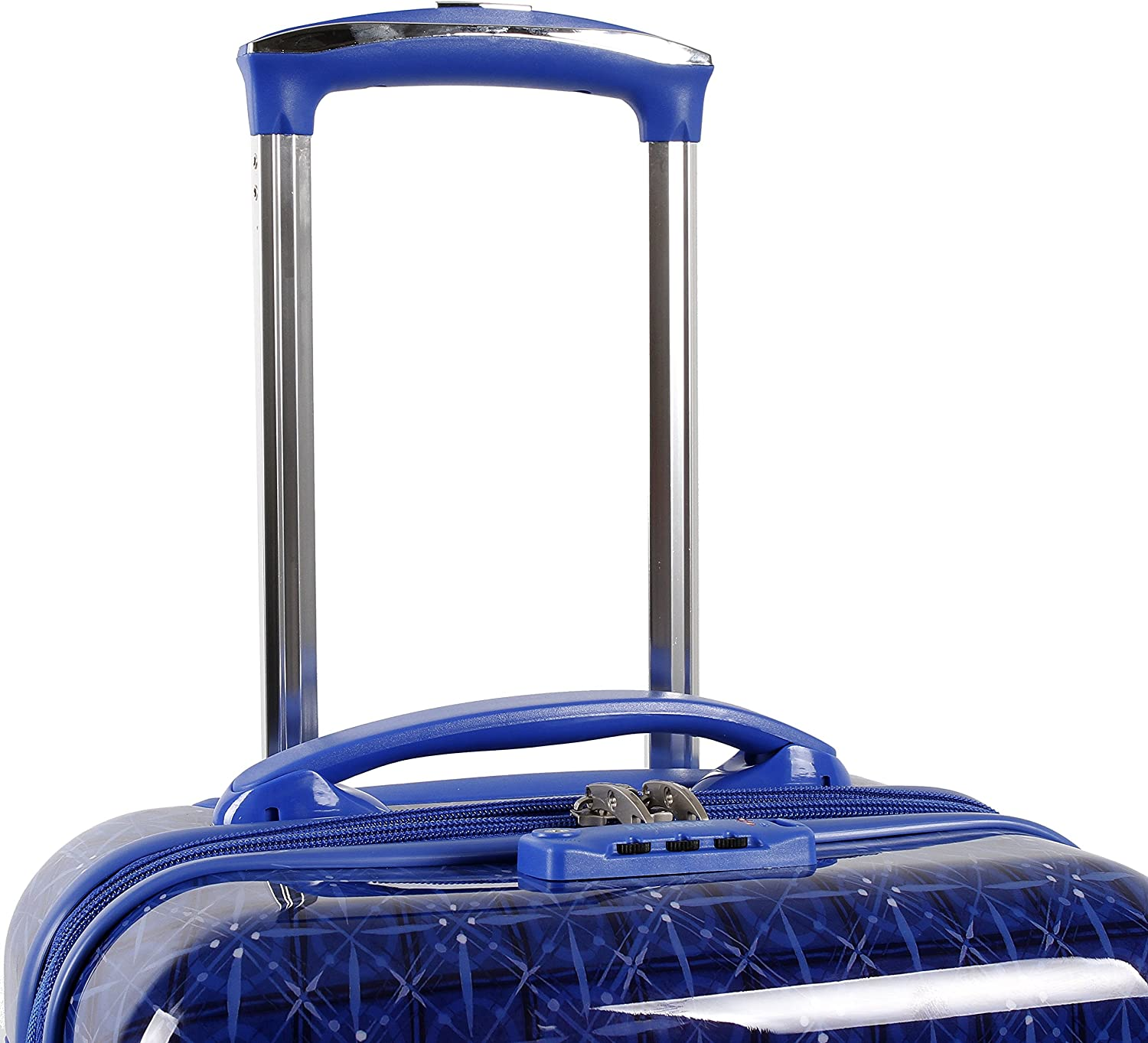 J World New York Taqoo Polycarbonate Carry-On Spinnger Luggage