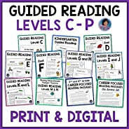 Guided Reading Comprehension Passages and Questions for Kindergarten through Third Grade: Print and Digital!