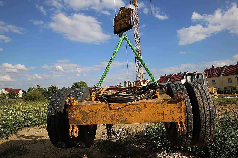 Braun 20061RS circonferenza 6 m portata 2000 kg con nucleo in poliestere colore: Verde Imbragatura rotonda