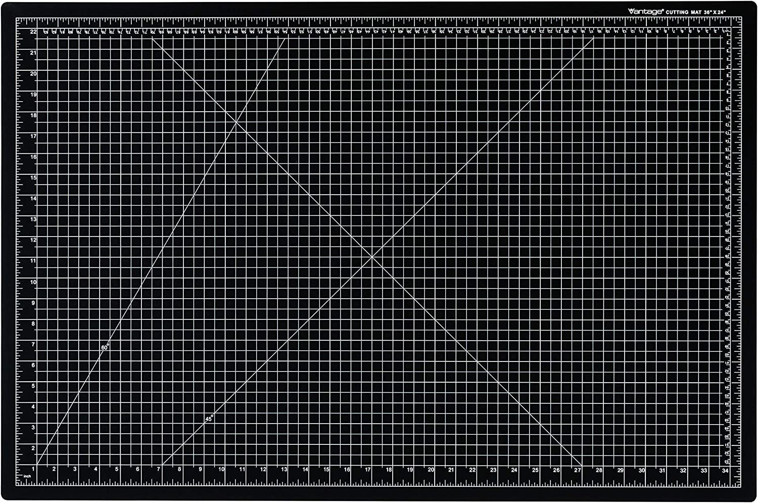 Dahle Vantage 10673 Self-Healing Cutting Mat, 24