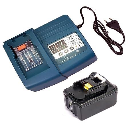 sustituir batería Makita BL1840 BL1830 con LED 18 V 4000 mAh ...