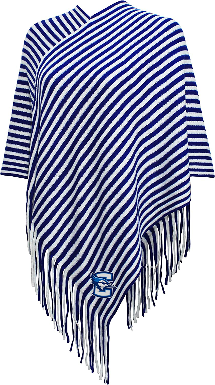 NCAA Womens NCAA Womens Campus Specialties Striped Team Poncho