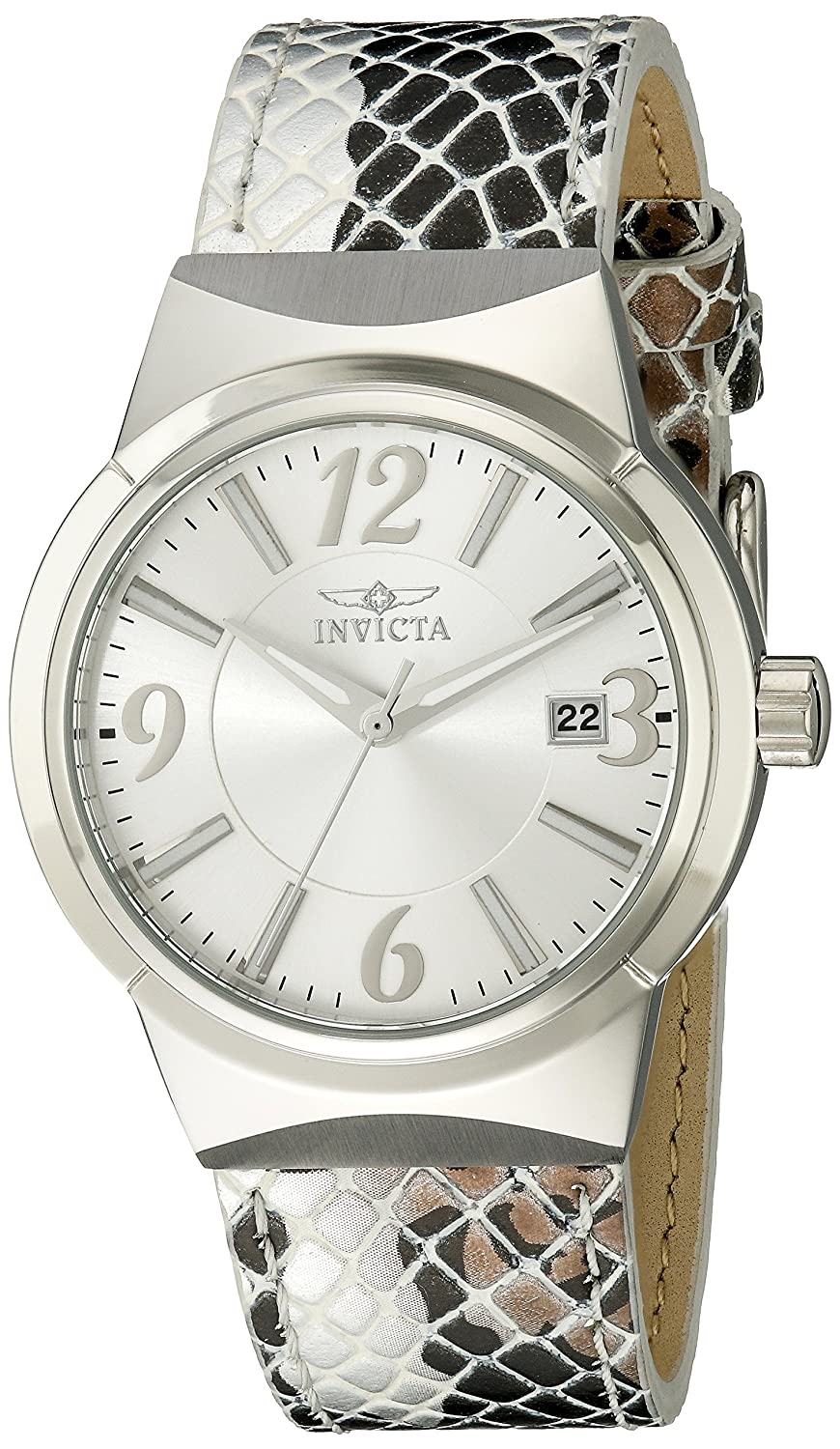Amazon.com: Invicta Women's 17297 Angel Analog Display Japanese Quartz  Silver Watch: Invicta: Watches