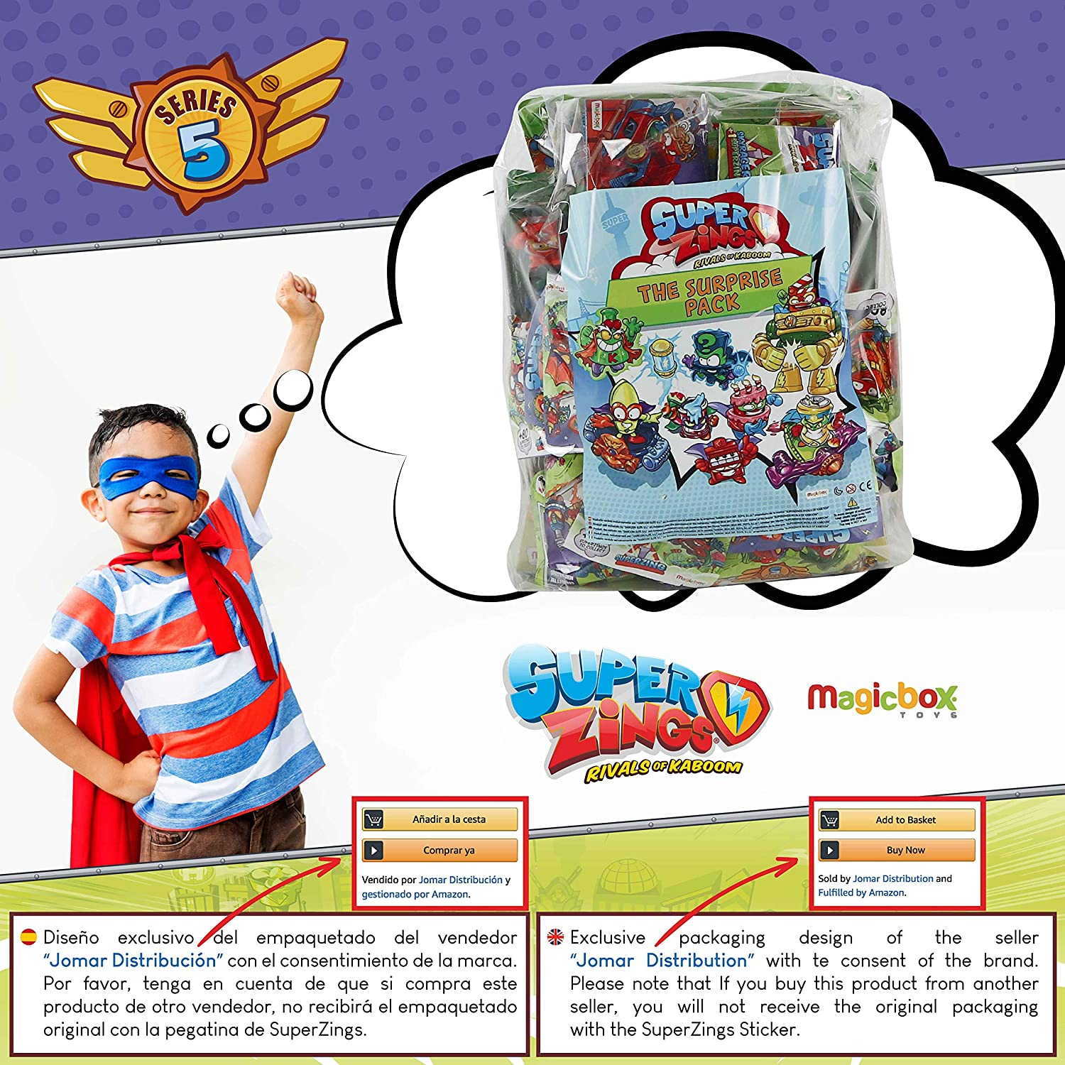 SuperZings Serie 5 - Pizza Riders Mission 3 y Pack Sorpresa con 17 Sets | Contiene Blíster Pizza Riders, 10 Sobres One Pack, 6 Aerowagons y 1 Skyracer | Juguetes y Regalos
