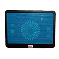 Jasvi Portable Laptop Notebook Fan Cooling Pad for 14 inch, Multi Colour