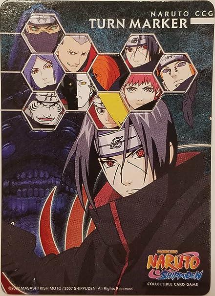 Amazon.com: Tarjeta de Naruto – Itachi/Dolor – Turn Marcador ...