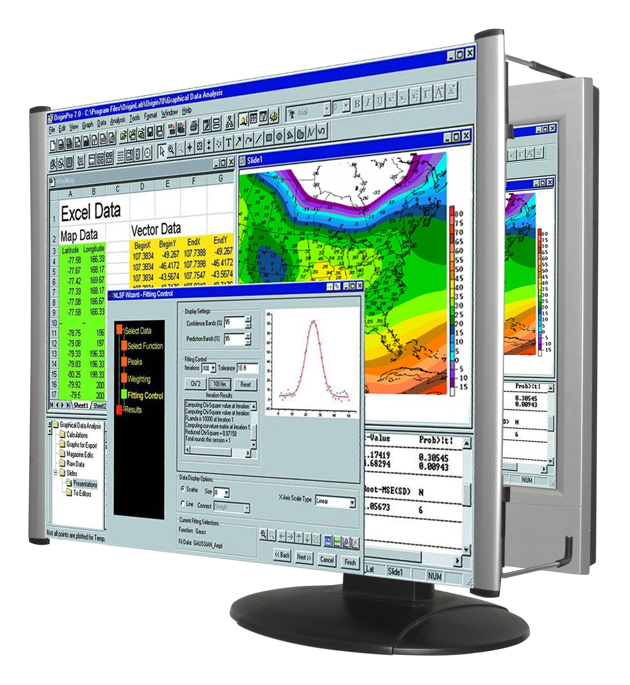 Kantek LCD Monitor Magnifier Filter, Fits 21.5'' and 22'' LCD Widescreens measured Diagonally (MAG22WL)