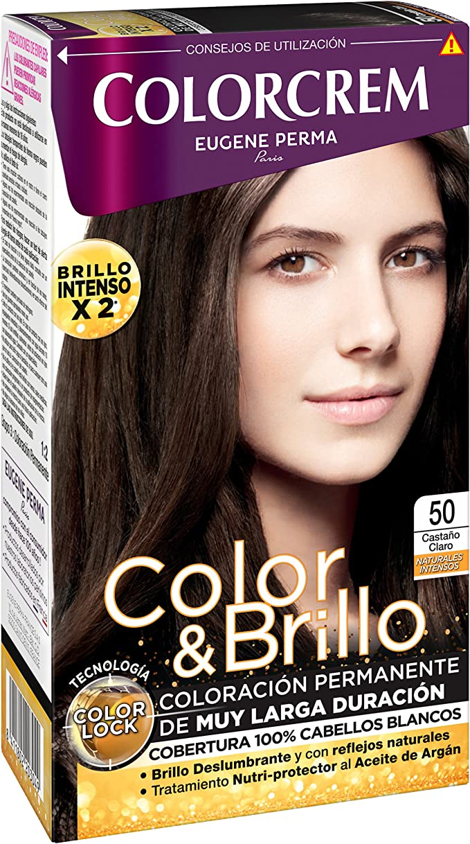 Colorcrem Color & Brillo Tinte Capilar Naturales Intensos Color ...