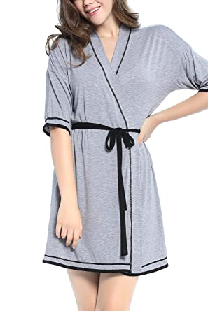 Nora Twips Womens Bathrobe Women Dressing Gown Women Kimono Robes