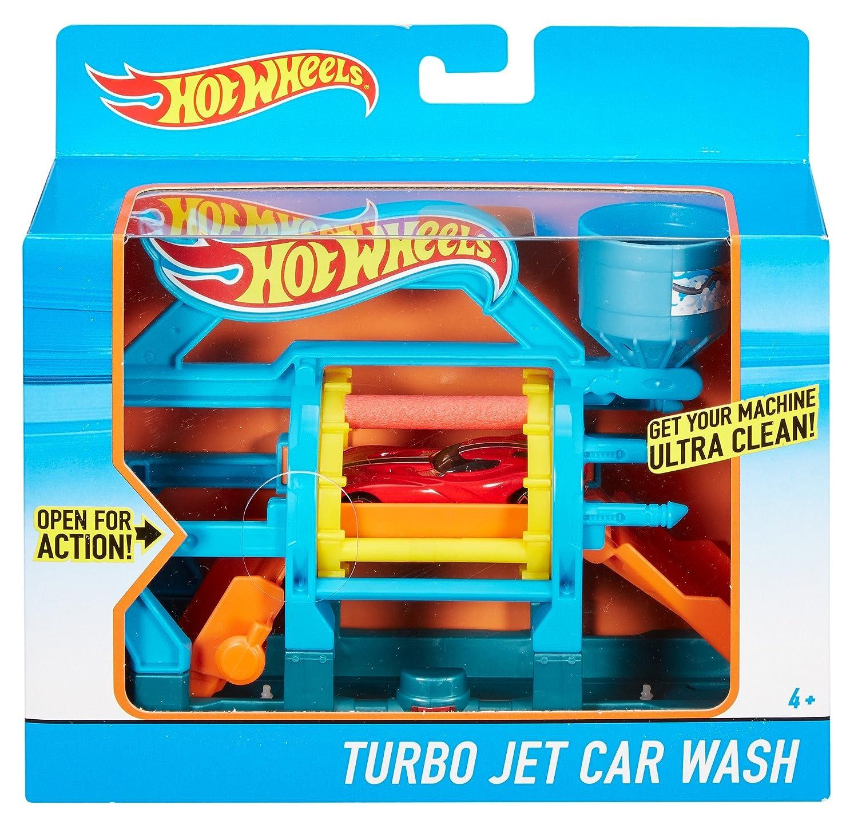 Hot Wheels - Ensemble de jeu de lavage de voiture - Turbo Jet: Amazon.es: Juguetes y juegos