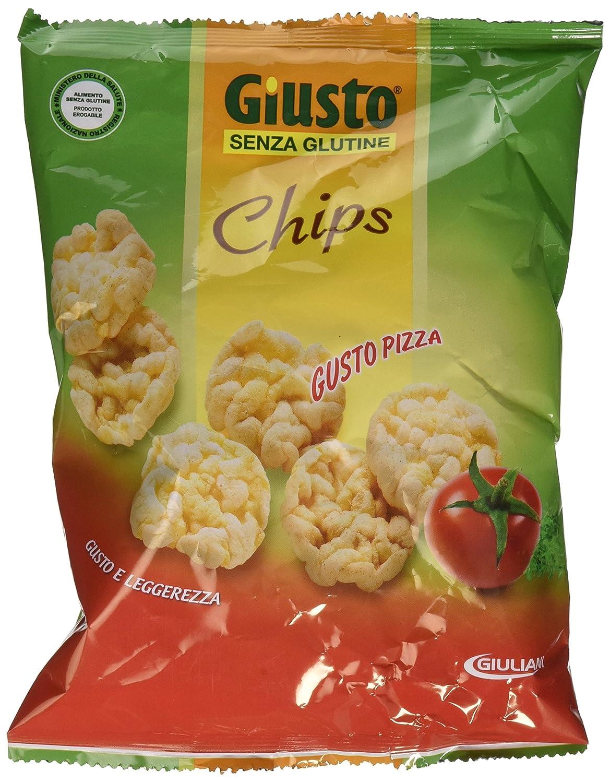 30g Giusto Gusto pizza chips Sin Gluten: Amazon.es: Salud y ...