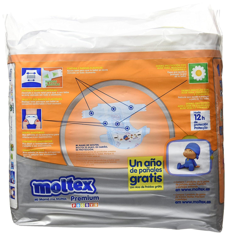 Moltex Premium - Bolsa de Pañales Desechables, 26 Unidades: Amazon.es: Amazon Pantry