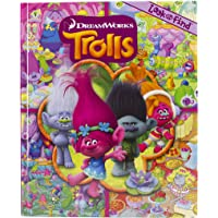 DreamWorks Trolls - Look and Find Activity Book - PI Kids